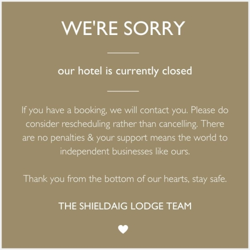 Restaurant & Bar Closure